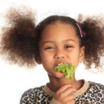 Vegetables as part of a child's diet