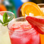 Mouth-watering mineral water based drinks
